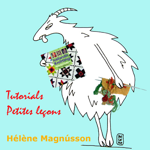 Icelandic intarsia: all the basics