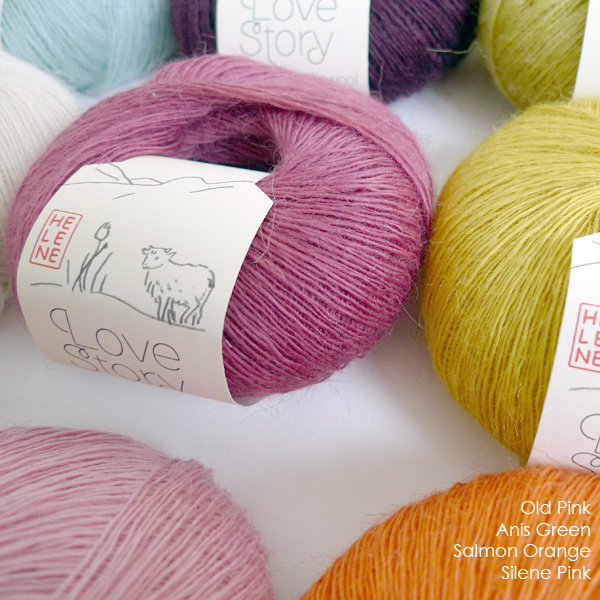 Love Story yarn, pure Icelandic lambswool fine 1 ply lace (10)