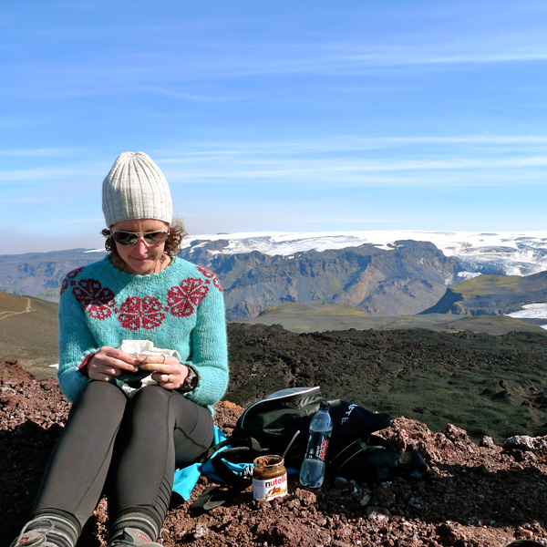 Knitting Vacations Iceland : Postcards from our hiking and knitting tour between fire