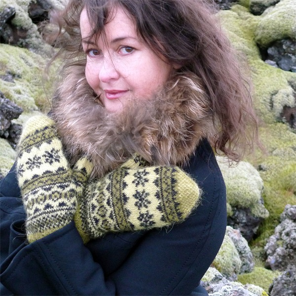 Mosi mittens: traditional Icelandic stranded mittens with Icelandic Gryla plied yarn (1)