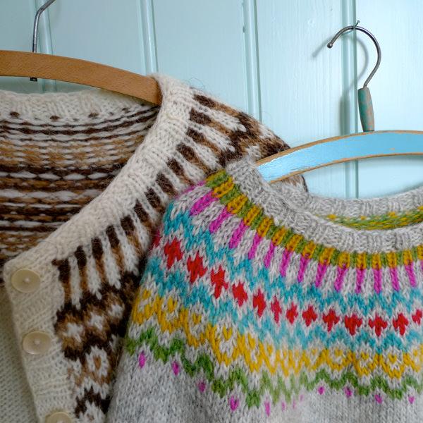 Knitting Vacations Iceland : Gamaldags icelandic knitter hélène magnússon