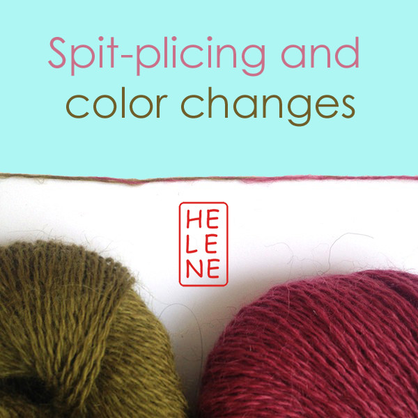 Spit-plicing and color changes