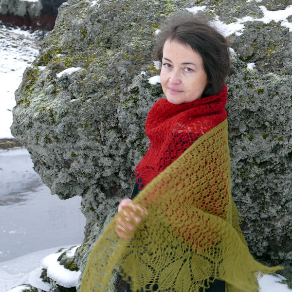 Knitting Vacations Iceland : Fína hyrna icelandic knitter hélène magnússon