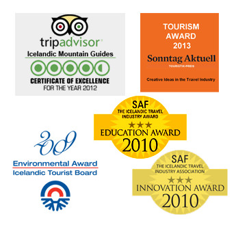awards icelandic tours