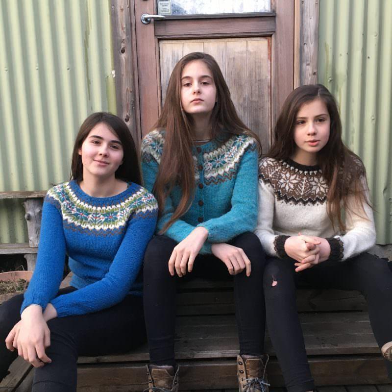 When Iceland meets Shetland - Icelandic Knitter - Hélène