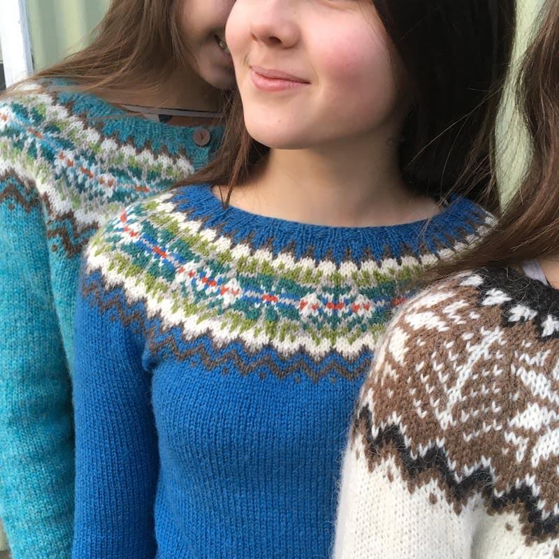 Hjaltlandspeysa - Icelandic Knitter - Hélène Magnússon