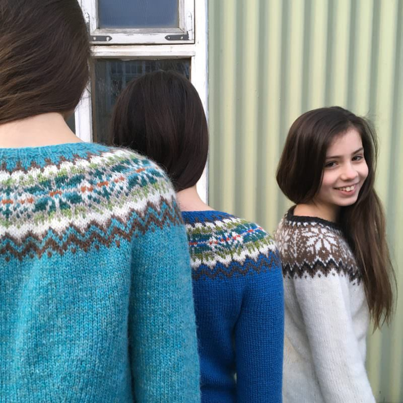 When Iceland meets Shetland - Icelandic Knitter - Hélène Magnússon
