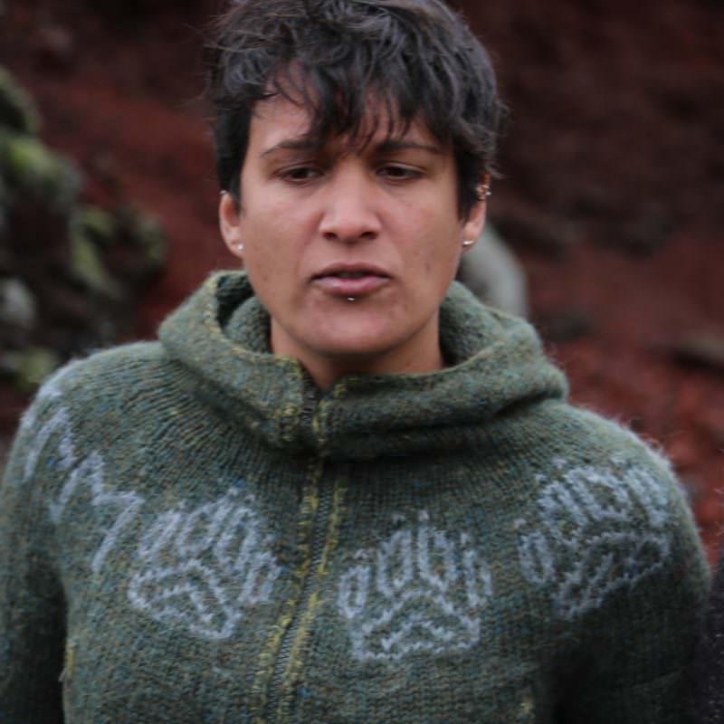 e29feb01594ba Pattern making insight  Útivist sweater - Icelandic Knitter - Hélène ...